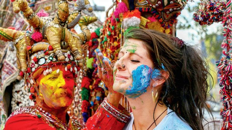 Top 3 Places to go and Celebrate Holi Festival in India