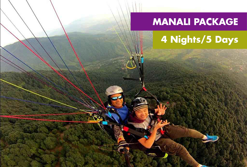 Manali Package 4 Nights 5 Days